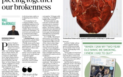 SUNDAY INDEPENDENT- KINTSUGI EXHIBITION @ GORMLEYS