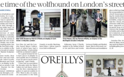 SUNDAY BUSINESS POST – PATRICK O'REILLY IN LONDON