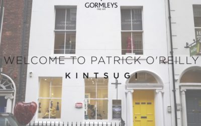 "Artist Patrick O'Reilly talking about his latest exhibition ""Kintsugi"""