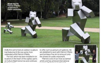 Dublin City Centre Hosts Outdoor Sculpture Trail